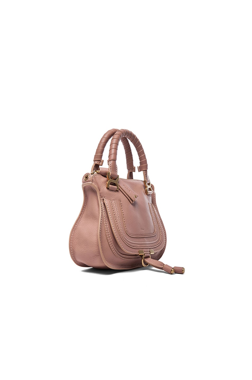 Image 4 of Chloe Mini Marcie Bag in Anemone Pink