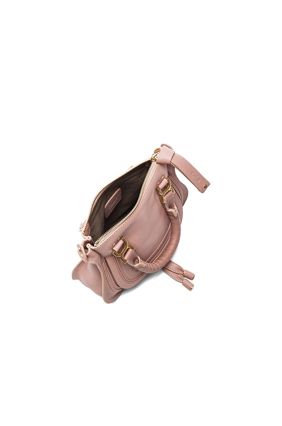 Image 5 of Chloe Mini Marcie Bag in Anemone Pink
