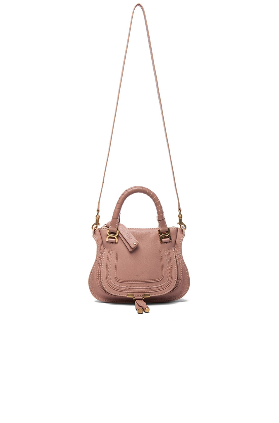 Image 6 of Chloe Mini Marcie Bag in Anemone Pink