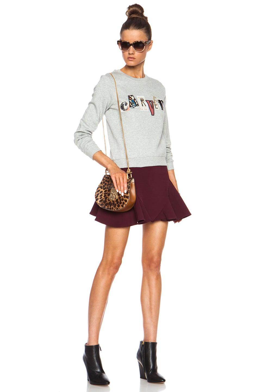chole purse - Chloe Mini Drew Chain Shoulder Bag in Savanna Brown | FWRD