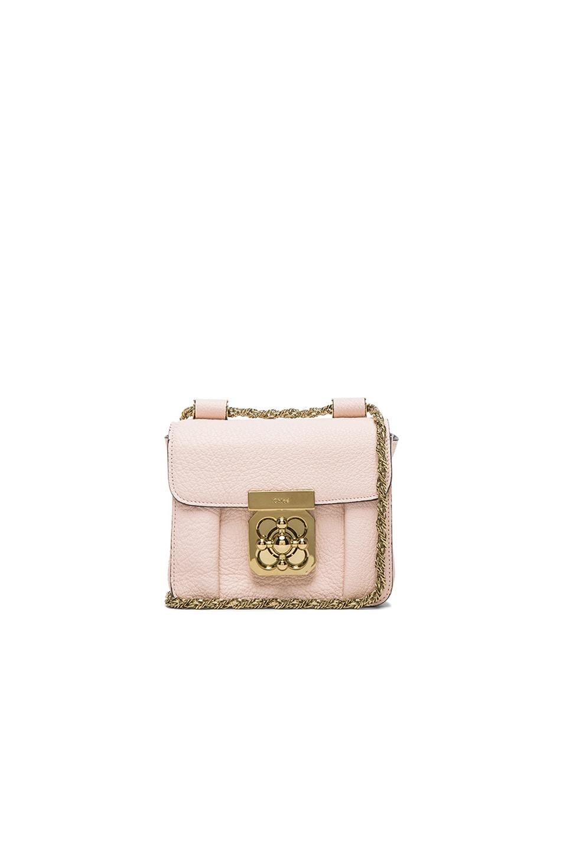 Chloe Mini Elsie Bag in Cement Pink | FWRD