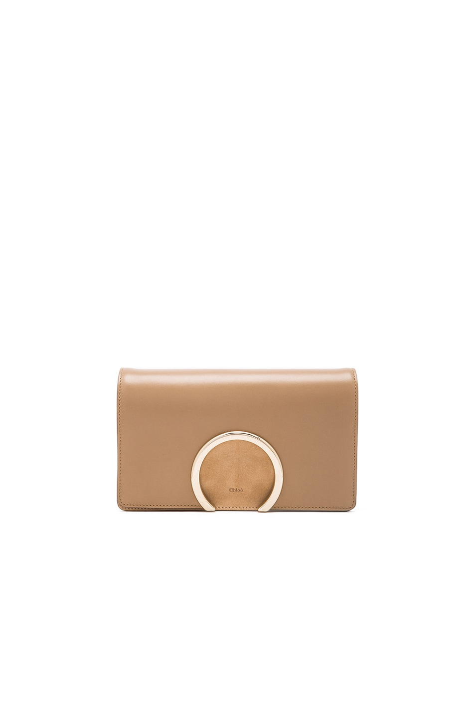 see by chloe replica - CHLO�� Chesnut Cream Lambskin 'Gabrielle' Clutch