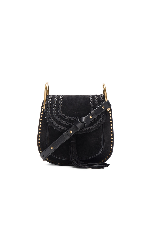 chloe bag replica - Chloe Small Suede Hudson Bag in Black | FWRD