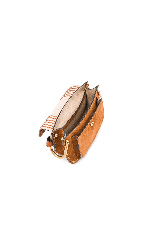 chloe handbags cheap - Chloe Small Suede Hudson Bag in Caramel   FWRD