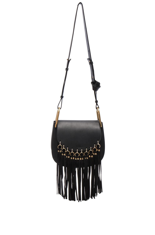 chloe small hudson fringe bag
