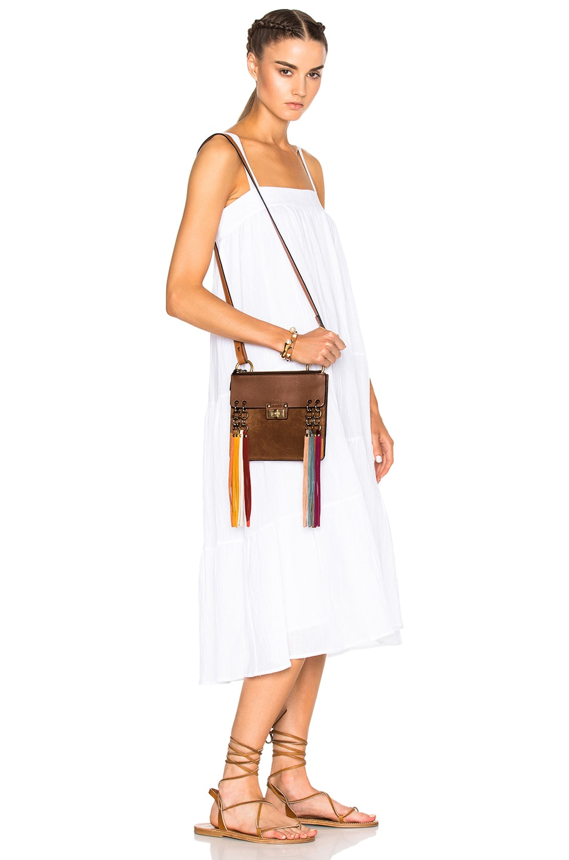 Chloe Small Jane Bag in Caramel | FWRD