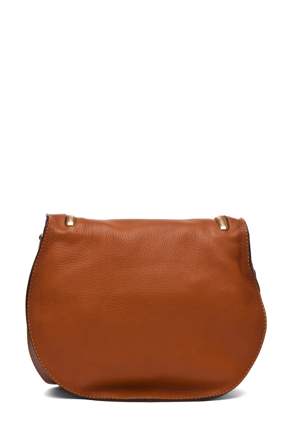 Image 2 of Chloe Marcie Crossbody in Tan