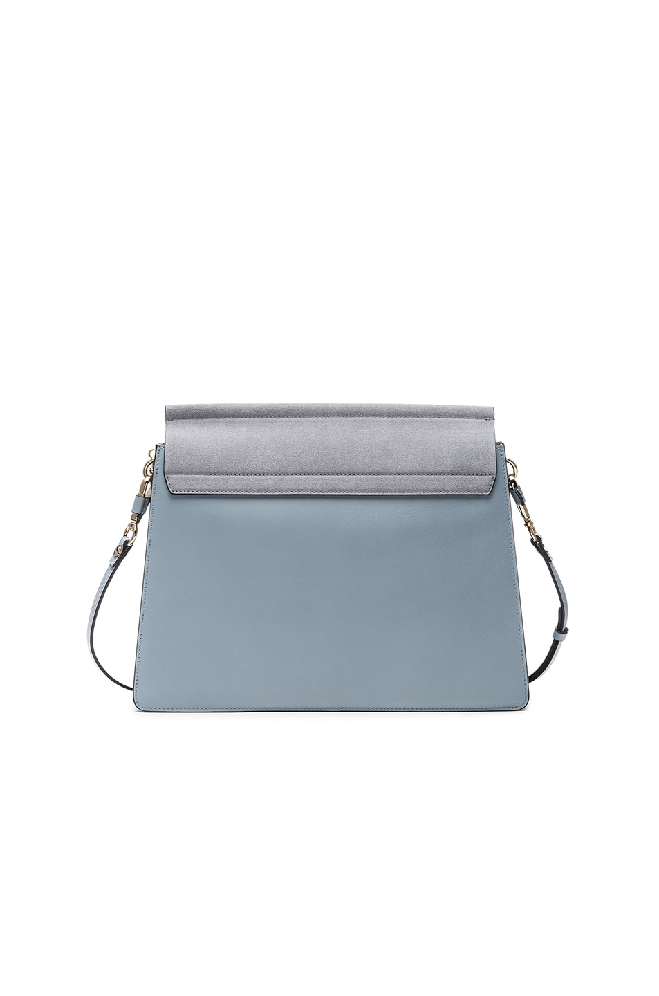 Image 2 of Chloe Medium Leather Faye Bag in Fresh Blue