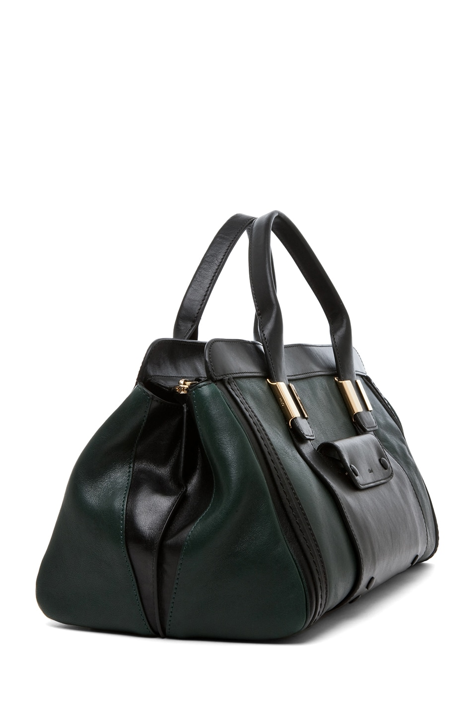 Image 3 of Chloe Alice Springs Medium Handbag in Fir Green