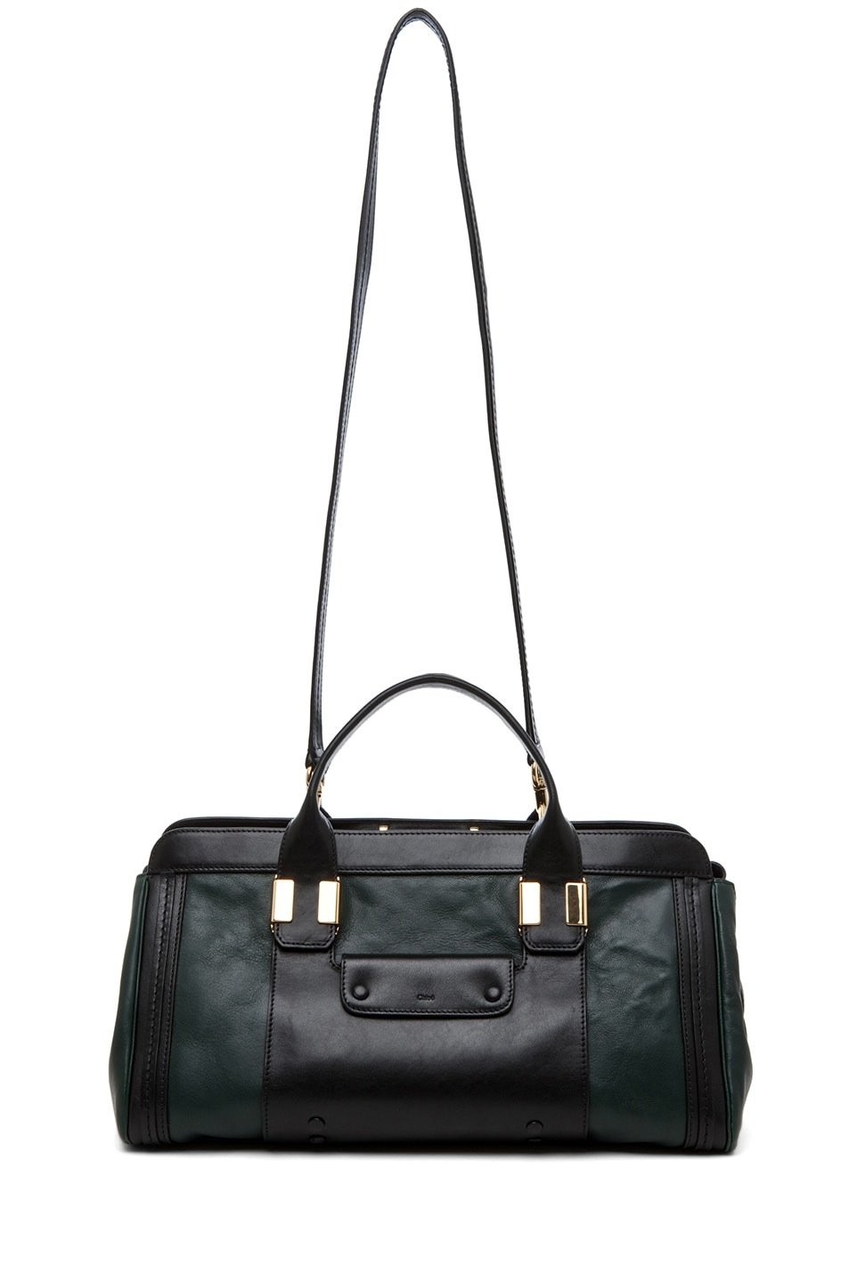 Image 5 of Chloe Alice Springs Medium Handbag in Fir Green