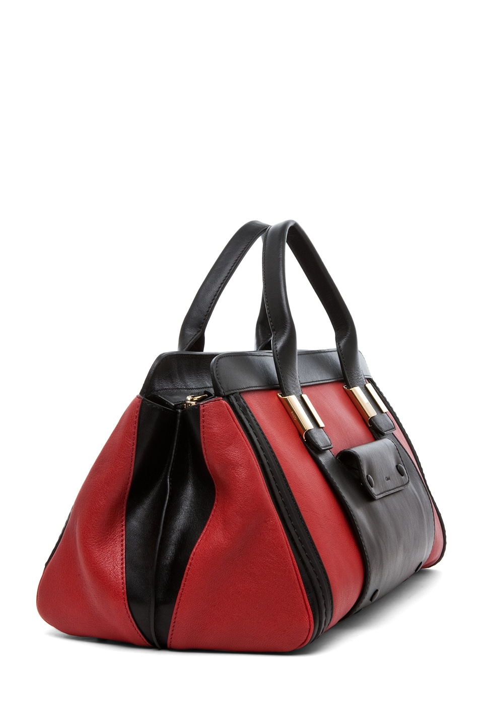 Image 3 of Chloe Alice Springs Medium Handbag in Holly Berry