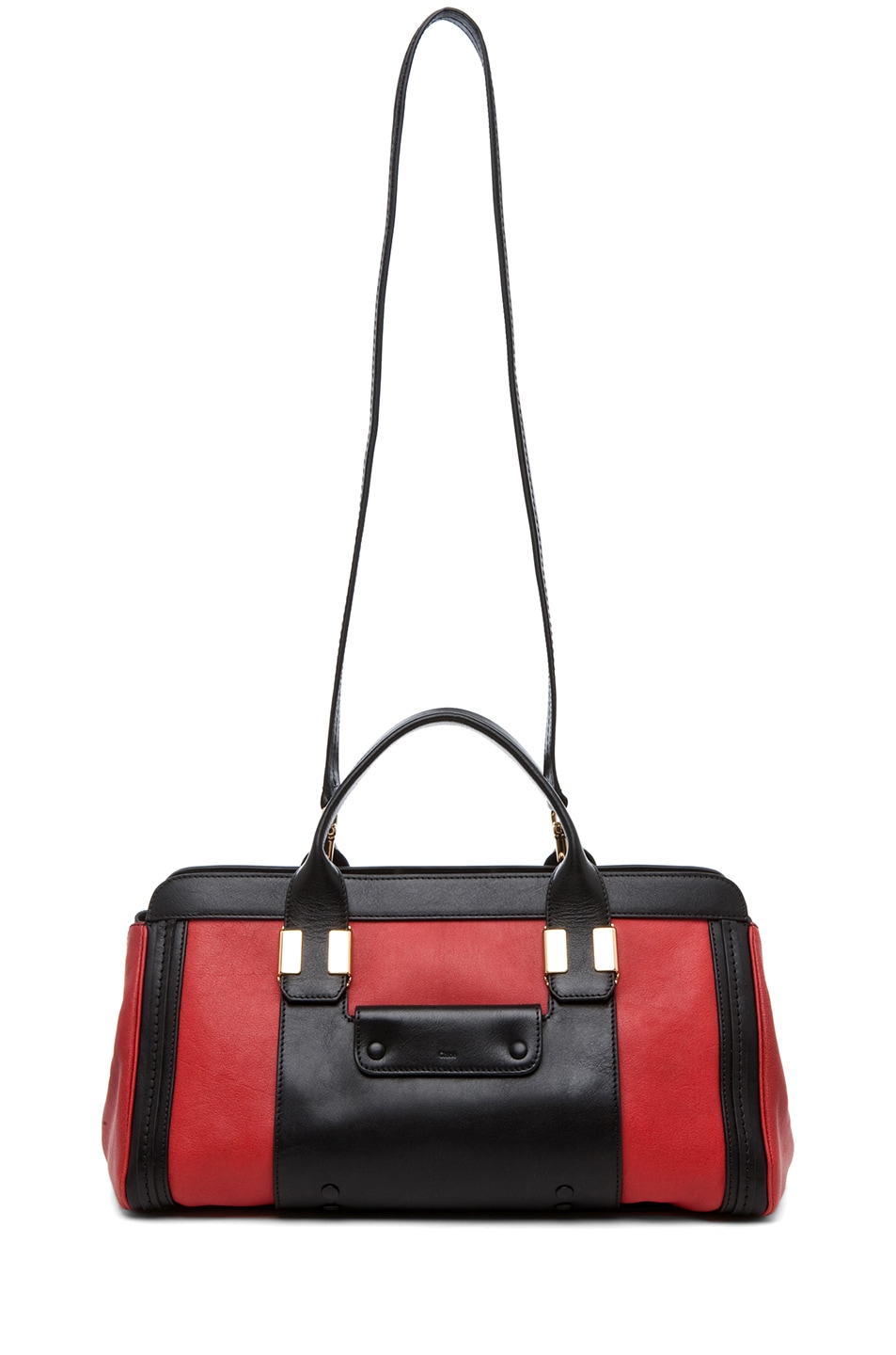 Image 5 of Chloe Alice Springs Medium Handbag in Holly Berry