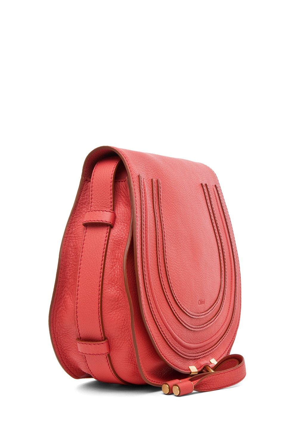 Image 3 of Chloe PINK PARTY EXCLUSIVE Medium Marcie Satchel in Paradise Pink