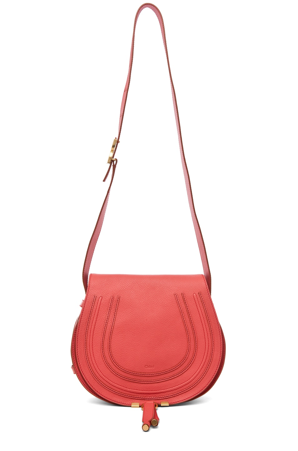 Image 5 of Chloe PINK PARTY EXCLUSIVE Medium Marcie Satchel in Paradise Pink