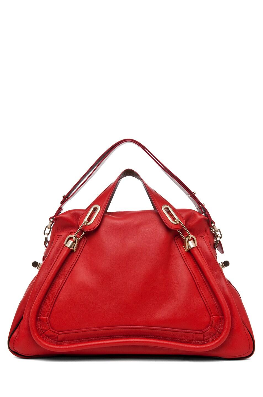 Image 5 of Chloe Paraty Handbag in Hollyberry