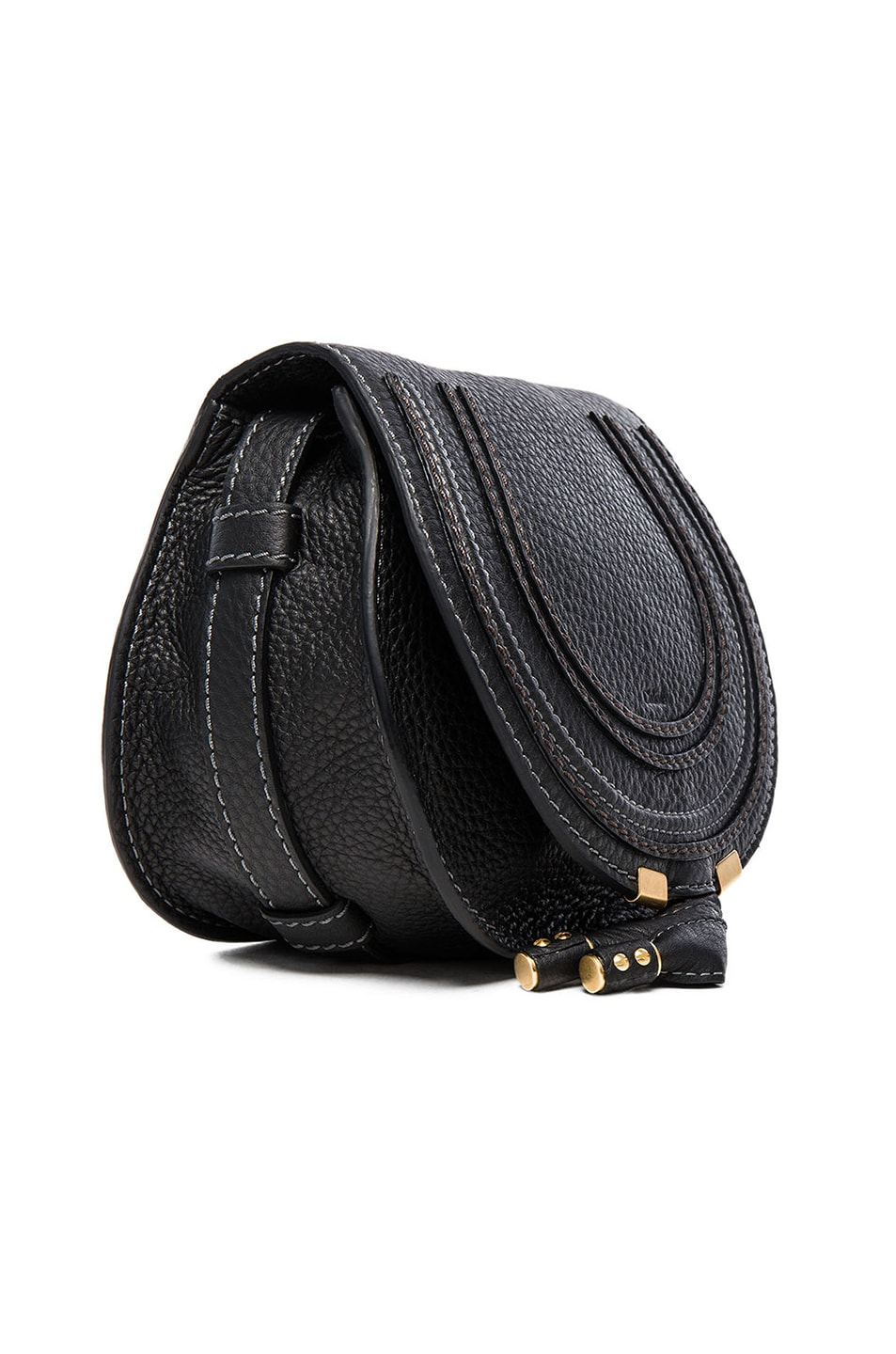 Image 4 of Chloe Marcie Satchel in Black