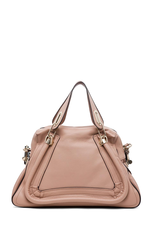 Image 4 of Chloe Paraty Military Medium Shoulder Bag in Tamris Pink