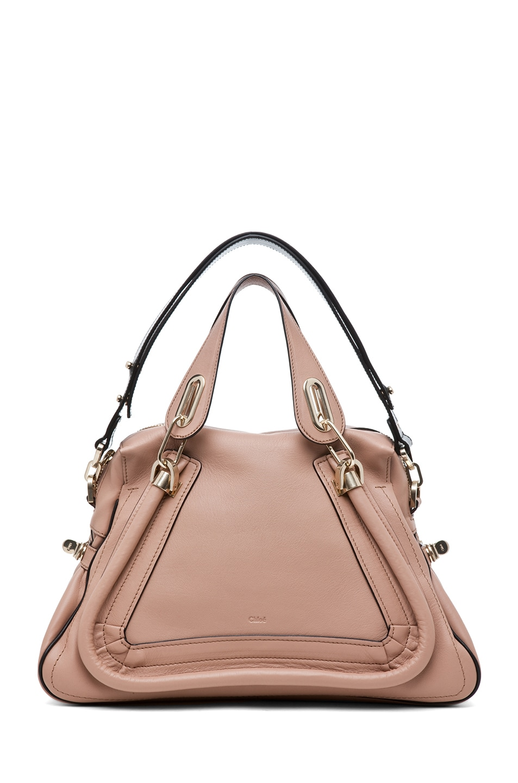 Image 6 of Chloe Paraty Military Medium Shoulder Bag in Tamris Pink
