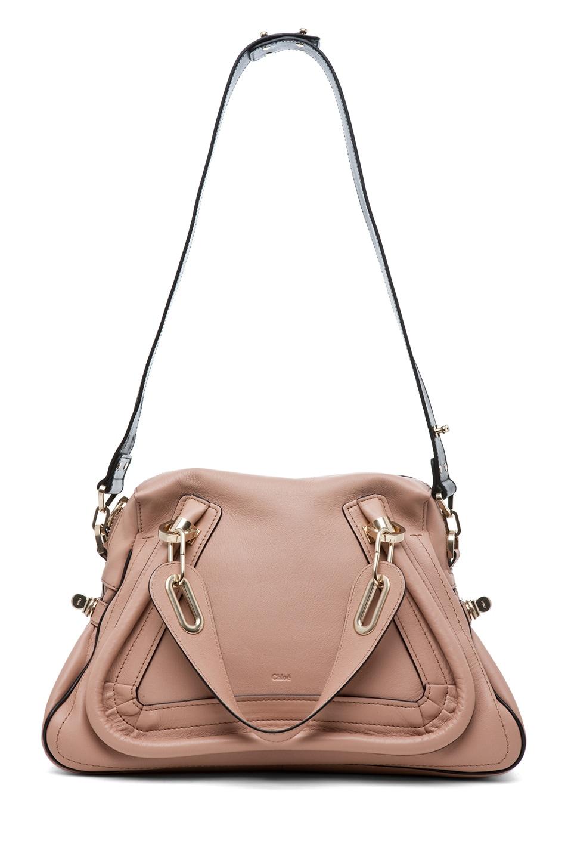 Image 7 of Chloe Paraty Military Medium Shoulder Bag in Tamris Pink