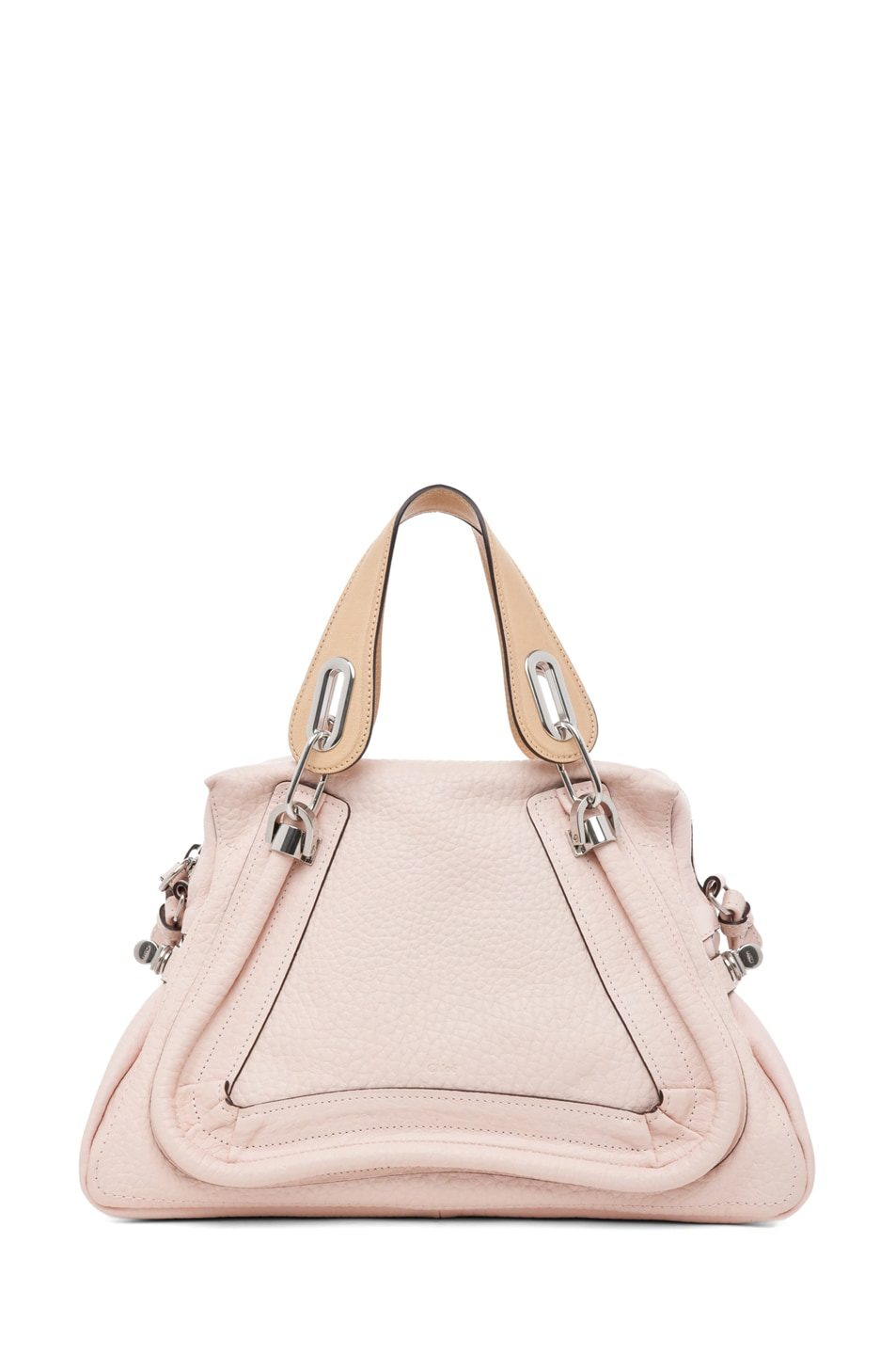 Image 1 of Chloe Paraty Medium Shoulder Bag in Bliss Pink