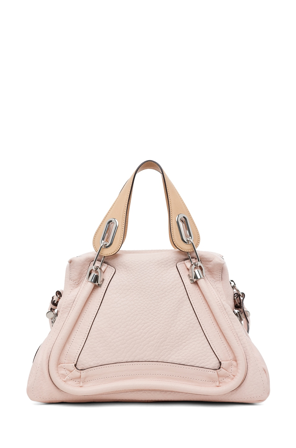 Image 2 of Chloe Paraty Medium Shoulder Bag in Bliss Pink