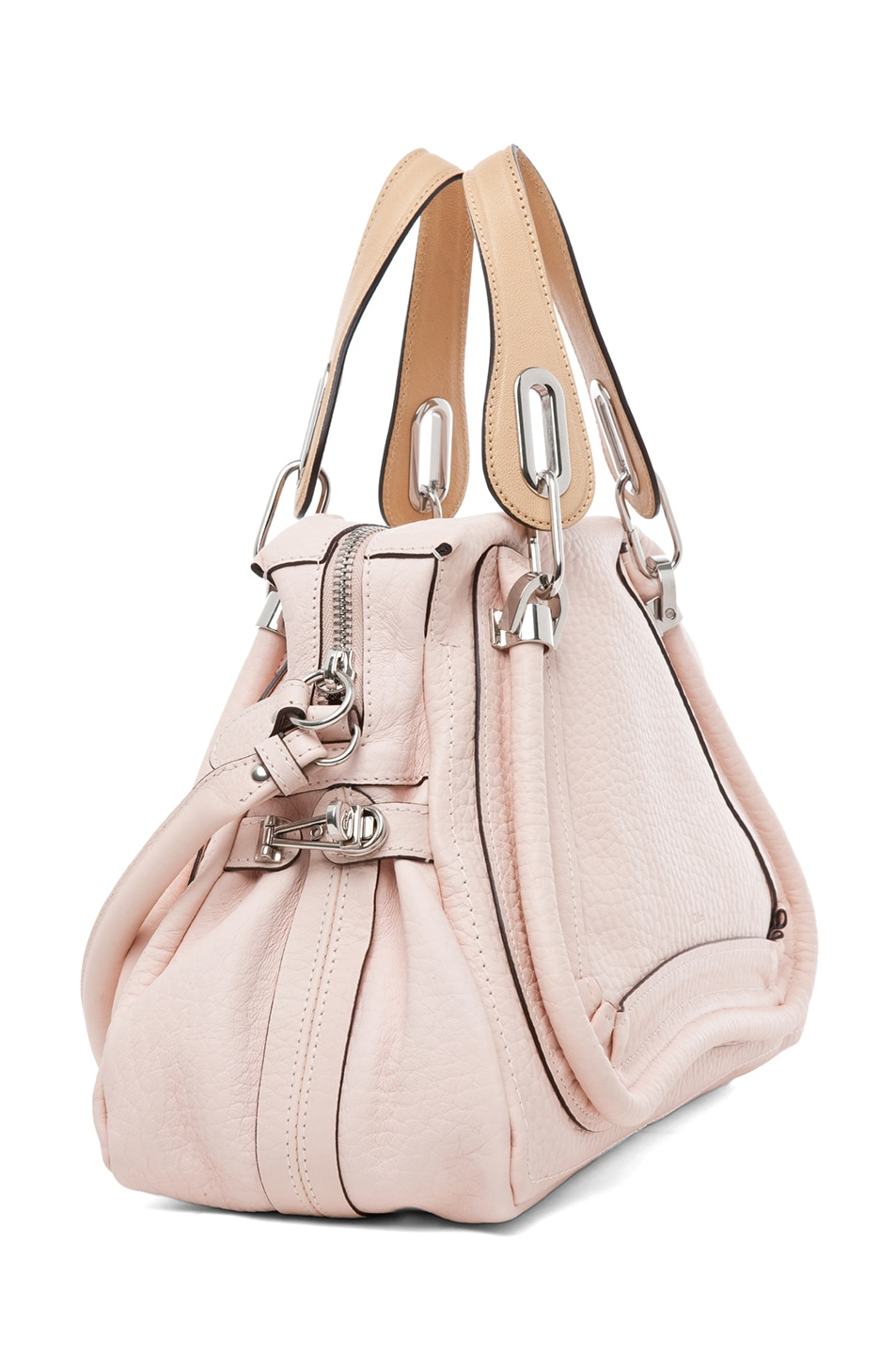 Image 3 of Chloe Paraty Medium Shoulder Bag in Bliss Pink