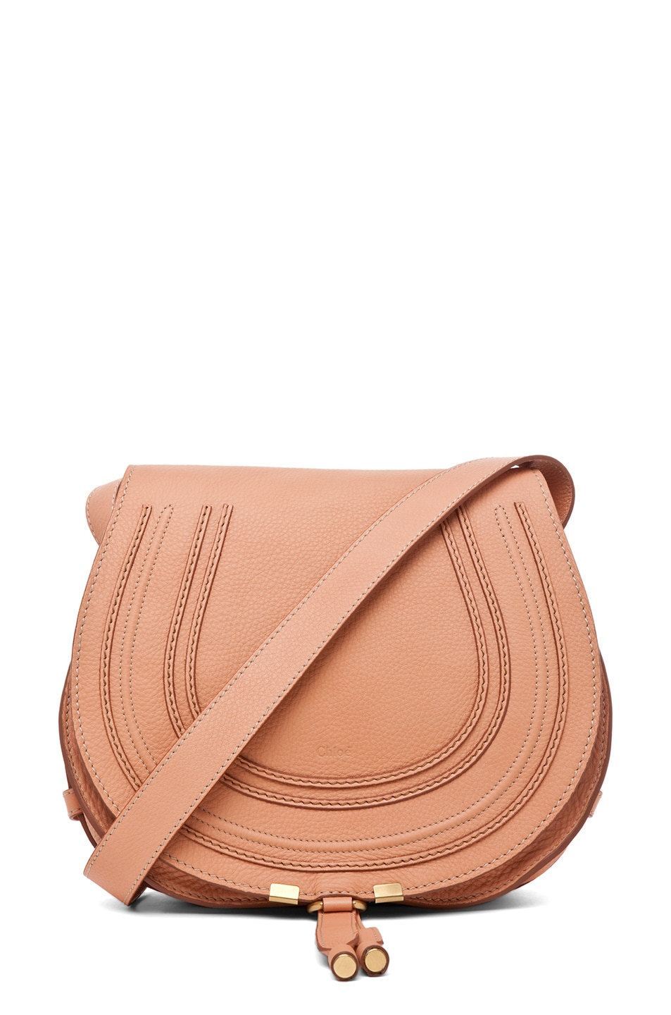 Image 1 of Chloe Marcie Satchel in Coral Sands
