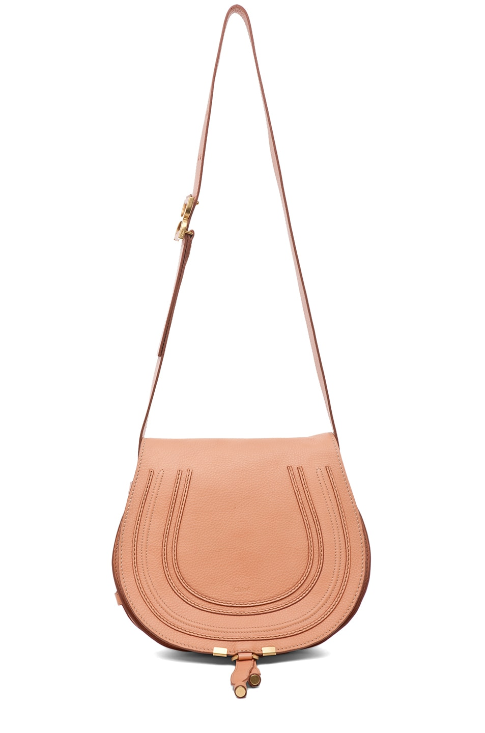 Image 5 of Chloe Marcie Satchel in Coral Sands