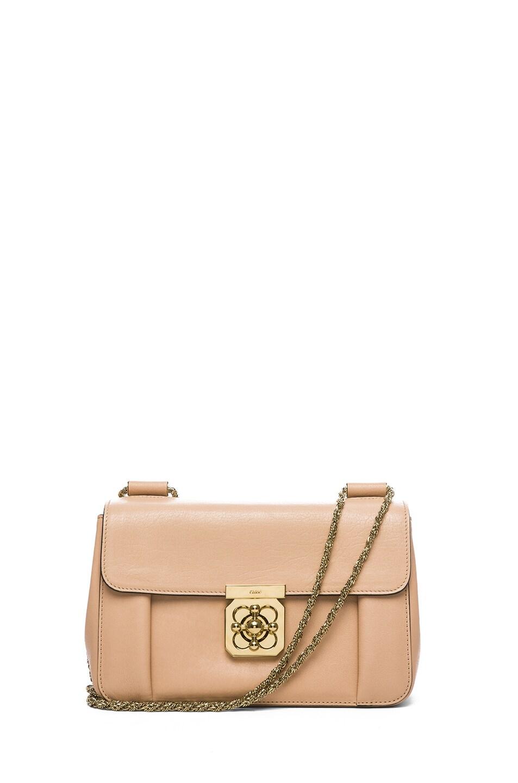 Image 1 of Chloe Medium Elsie Shoulder Bag in Biscotti Beige