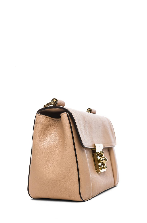Image 3 of Chloe Medium Elsie Shoulder Bag in Biscotti Beige