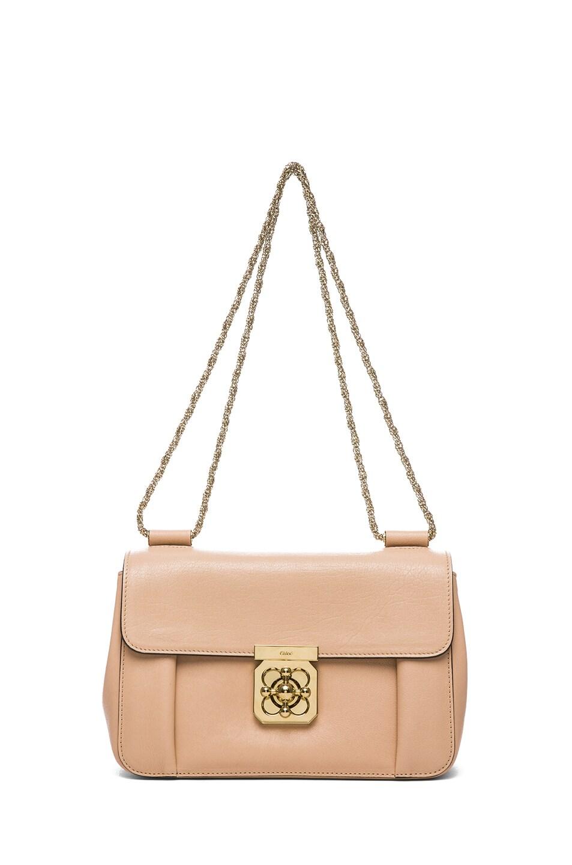 Image 5 of Chloe Medium Elsie Shoulder Bag in Biscotti Beige