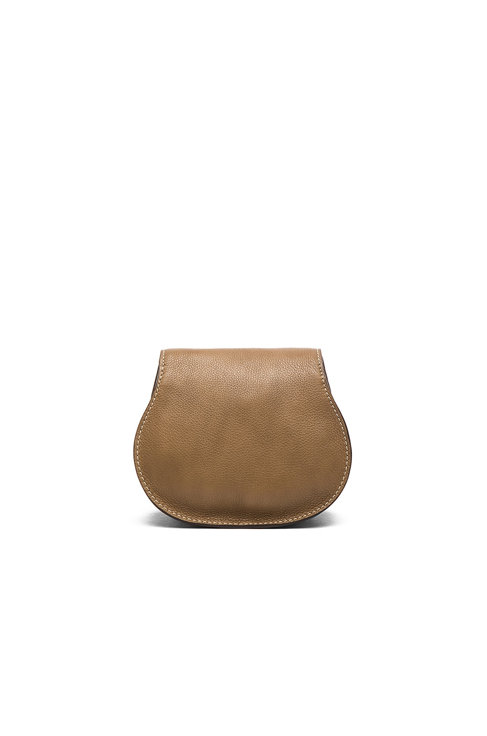 Image 2 of Chloe Small Marcie Saddle Bag in Nut