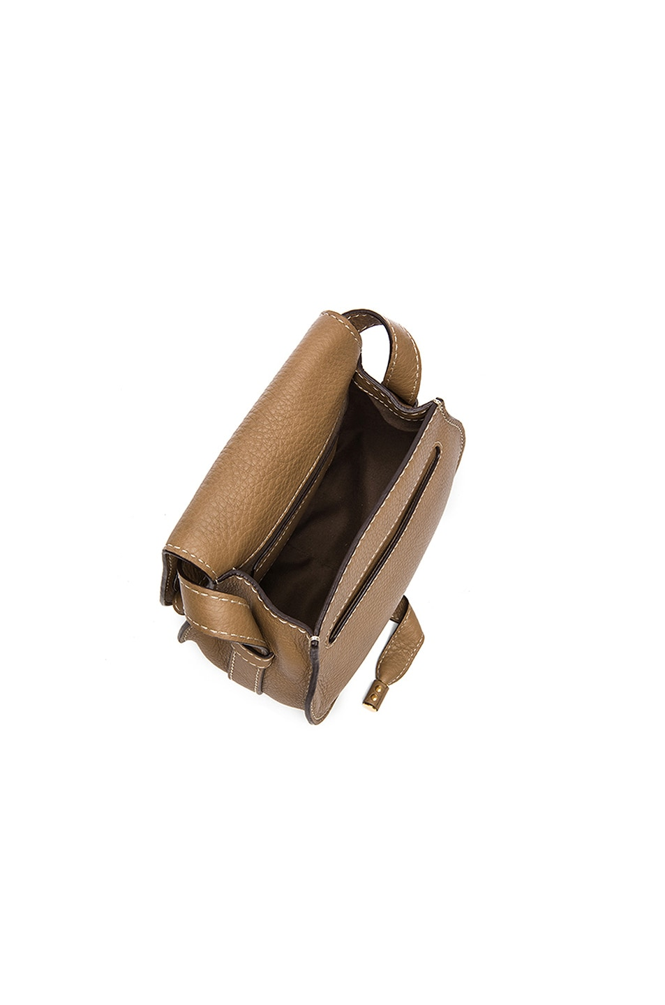 Image 4 of Chloe Small Marcie Saddle Bag in Nut