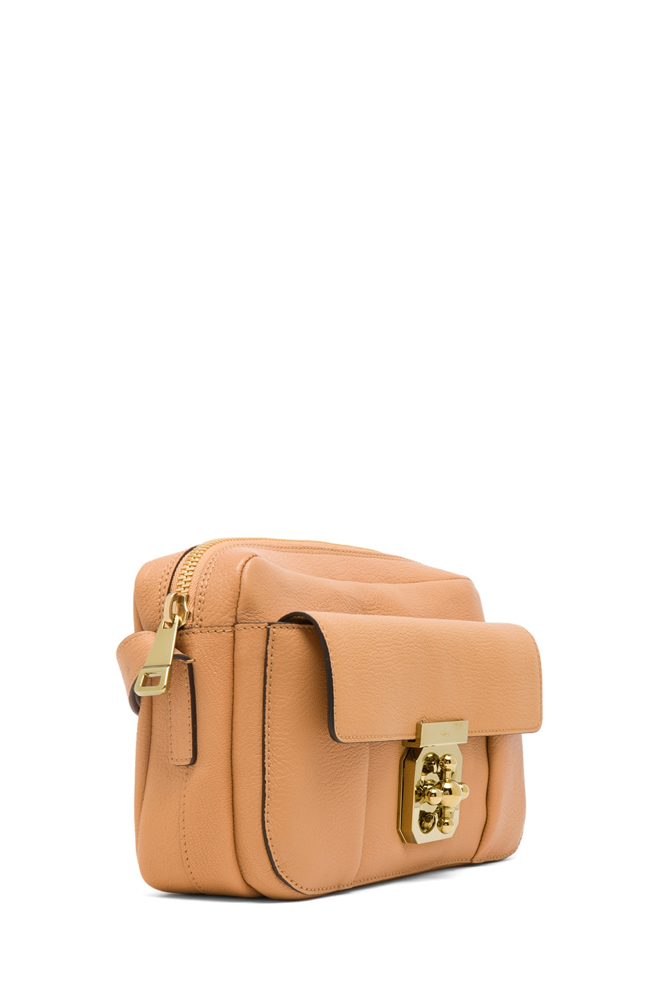 Image 3 of Chloe Medium Elsie Shoulder Bag in Rose Milk