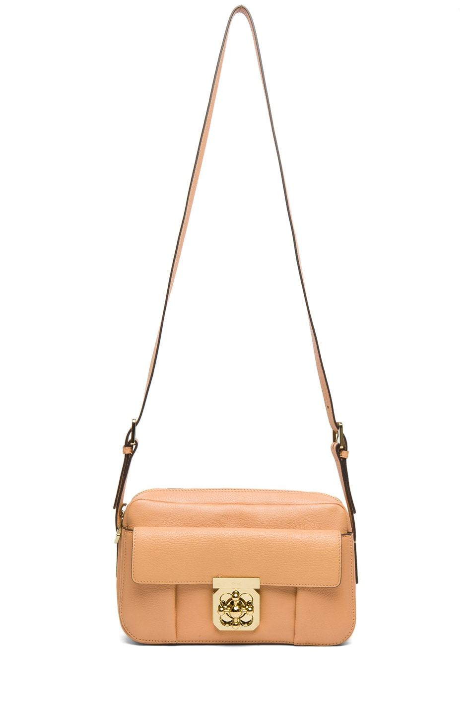 Image 5 of Chloe Medium Elsie Shoulder Bag in Rose Milk