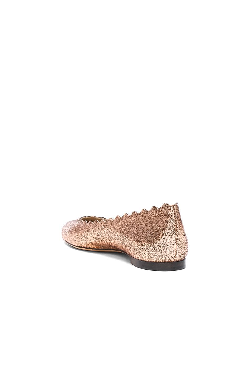 CHLOÉ Lauren Leather Flats