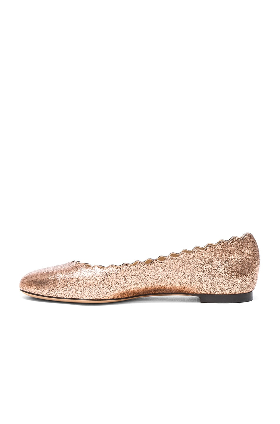 CHLOÉ Lauren Leather Flats