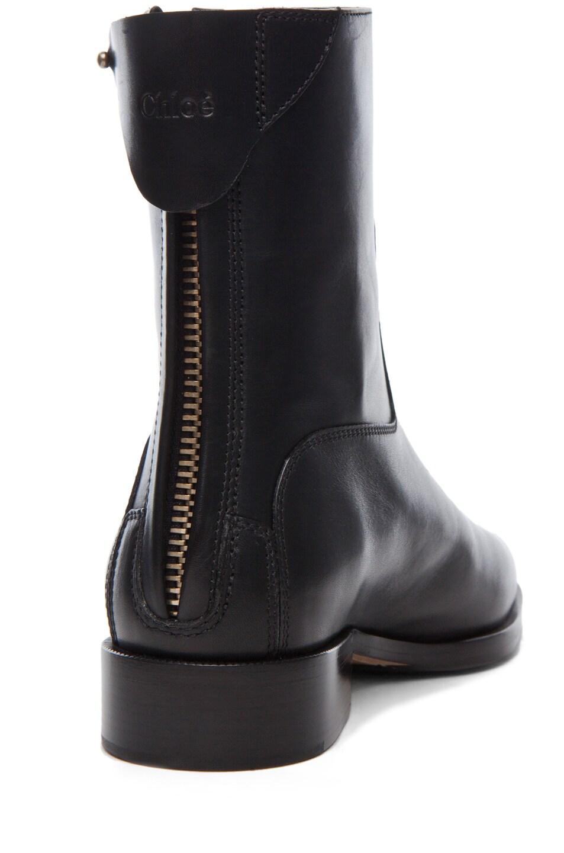 Image 3 of Chloe Safari Super Lux Bootie in Black