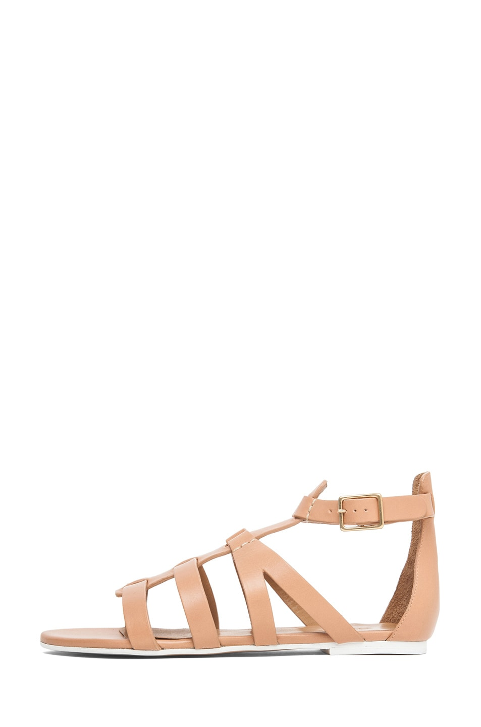 Image 1 of Chloe Gladiator Sandal in Nude