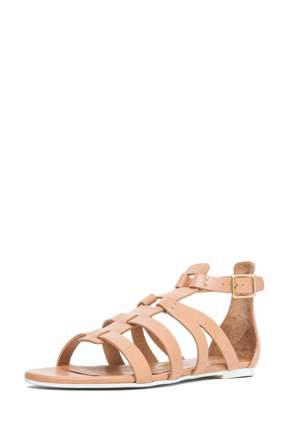 Image 2 of Chloe Gladiator Sandal in Nude