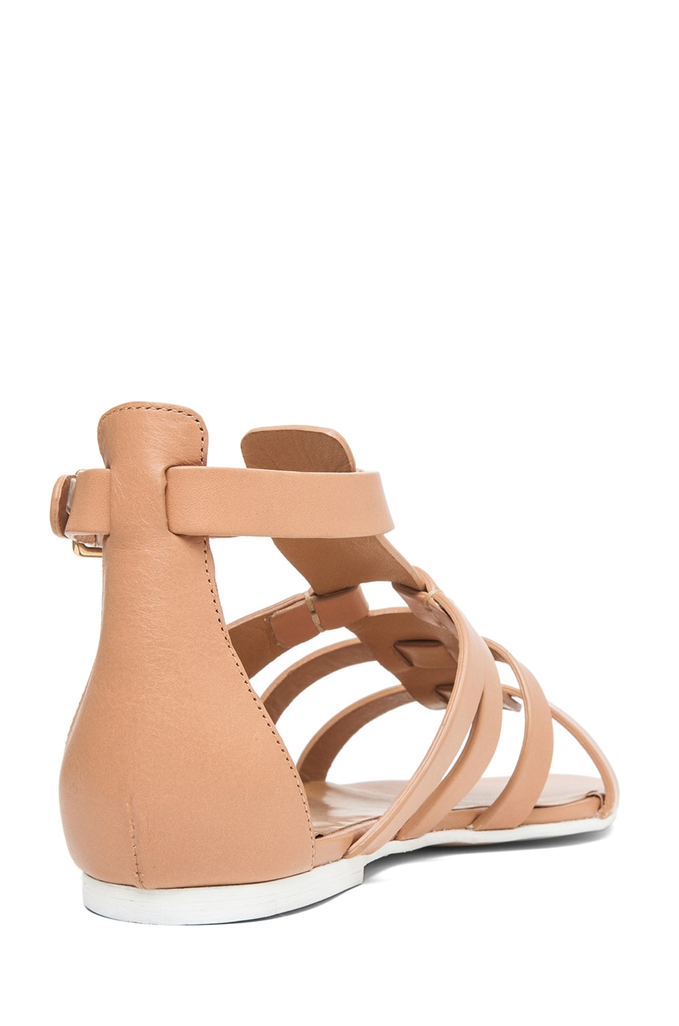 Image 3 of Chloe Gladiator Sandal in Nude