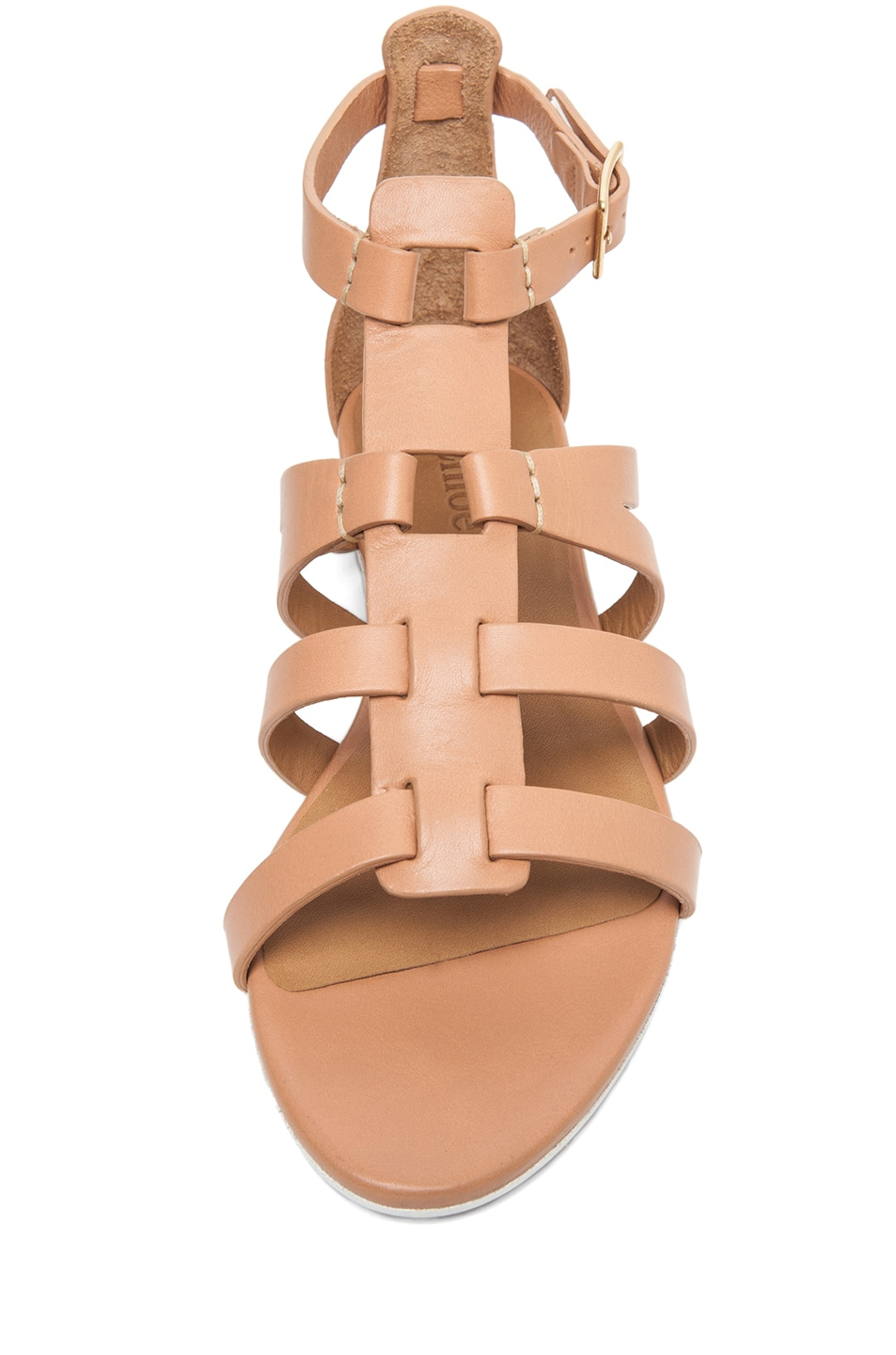 Image 4 of Chloe Gladiator Sandal in Nude
