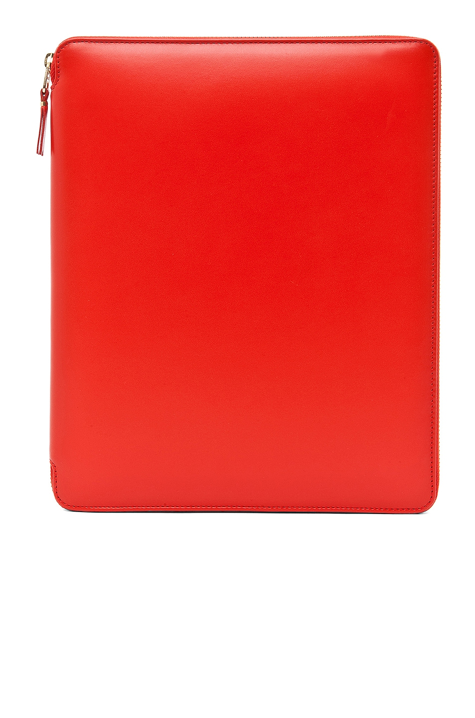 Image 1 of Comme Des Garcons Luxury Leather iPad Case in Orange