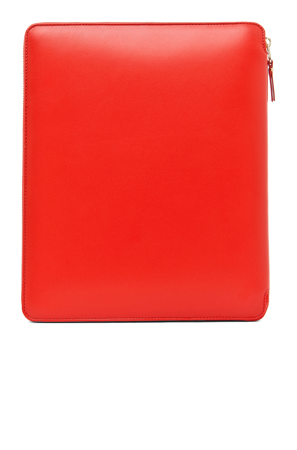 Image 2 of Comme Des Garcons Luxury Leather iPad Case in Orange