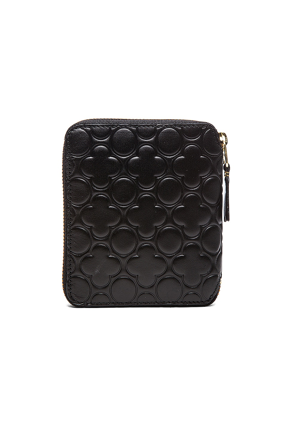 Image 2 of Comme Des Garcons Star Embosed Classic Wallet in Black