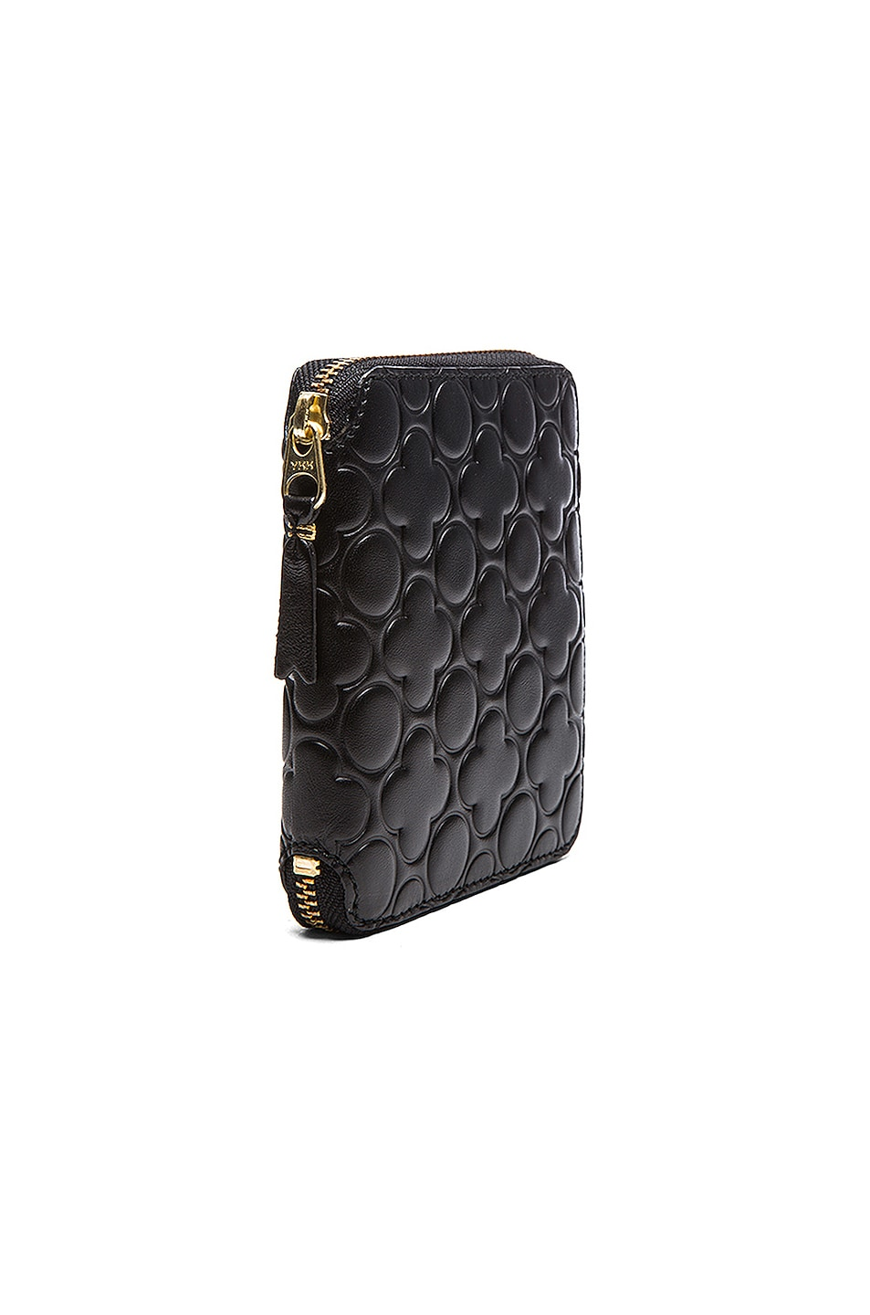 Image 3 of Comme Des Garcons Star Embosed Classic Wallet in Black