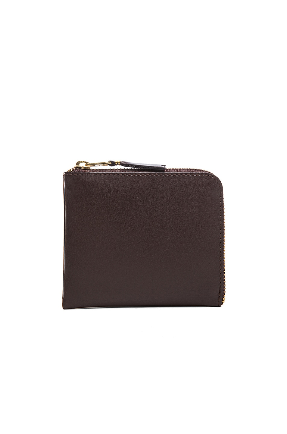 Image 1 of Comme Des Garcons Small Zip Wallet in Brown