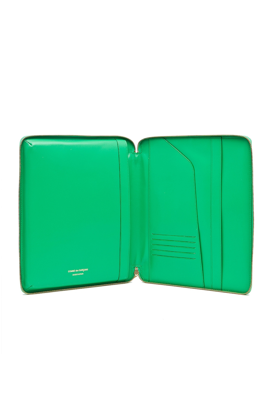Image 4 of Comme Des Garcons Classic iPad Case in Green