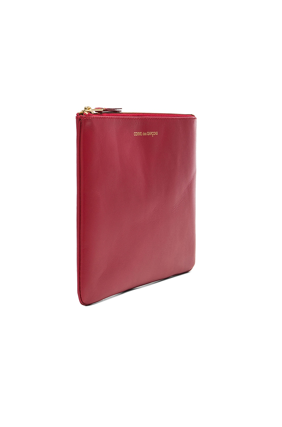 Image 3 of Comme Des Garcons Classic Pouch in Red