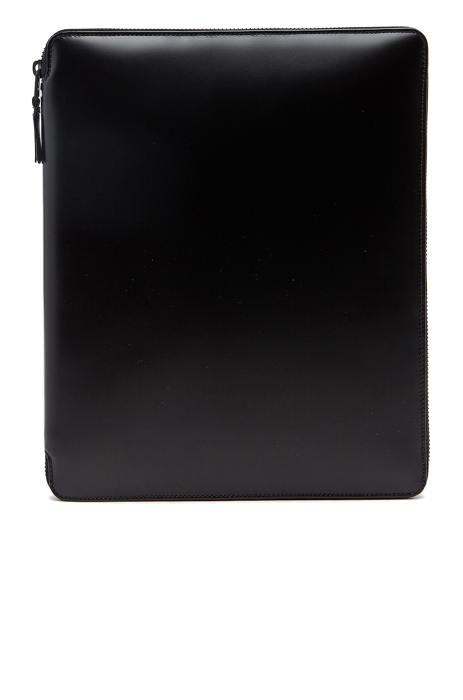 Image 1 of Comme Des Garcons Luxury Leather iPad Case in Black